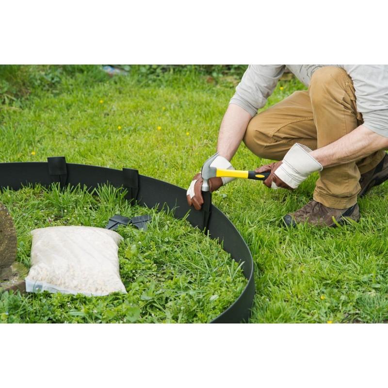 Bordure de jardin flexible pro hauteur 9 ou 12cm