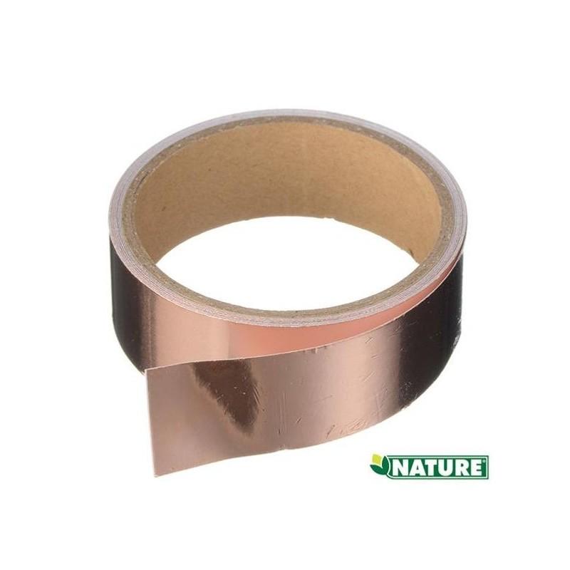 bande de cuivre auto-collante barrière anti-limaces